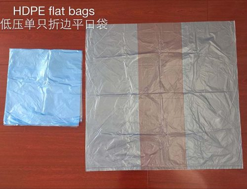 poly flat bags on roll